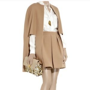 Stella McCartney Camel Wool Skirt